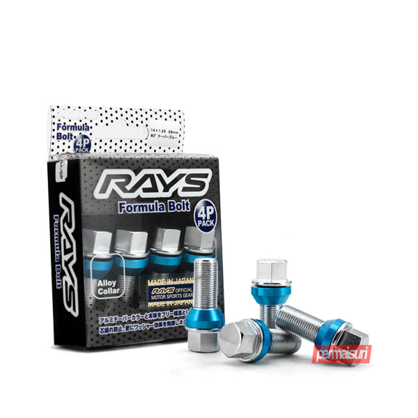 Rays Formula Bolt Chrome Blue
