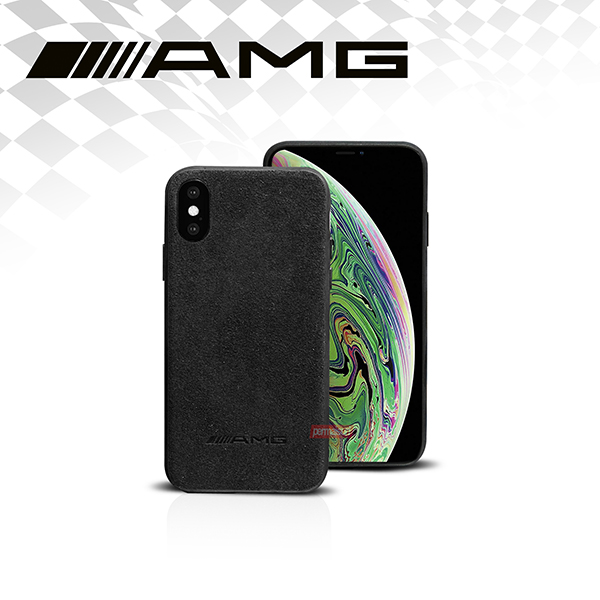 Case HP AMG FOR IPHONE (XS MAX) LEATHER