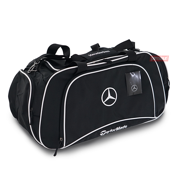 Tas Mercedes Benz Golf Sport Bag Black List White