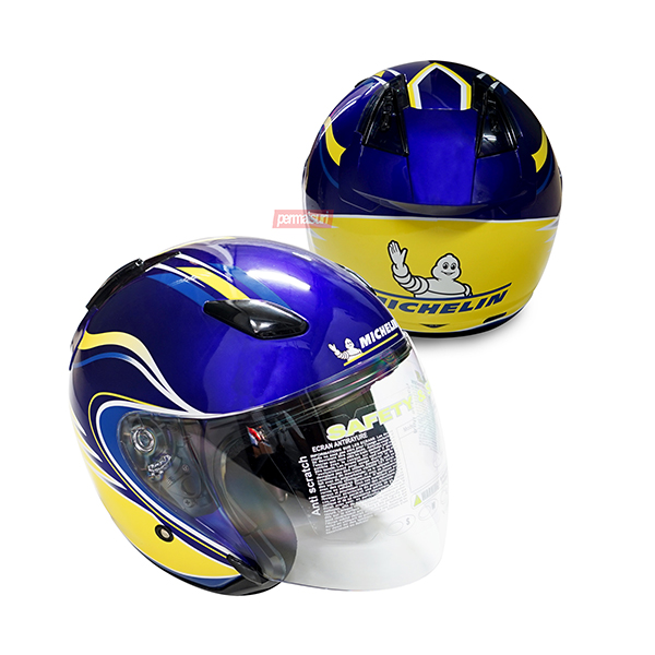 Helm Half Face Michelin 2018