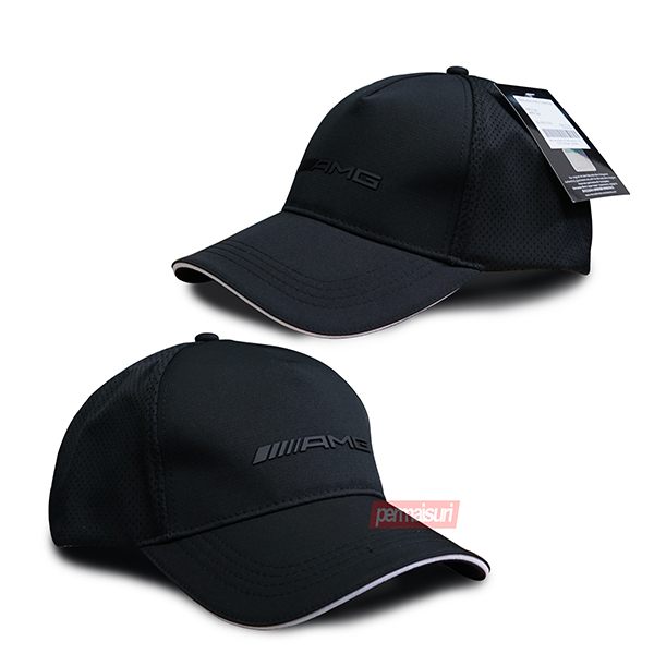 AMG Baseball Cap Black