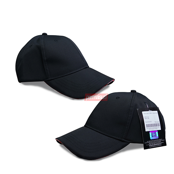AMG Baseball Cap Black and Red