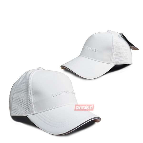 AMG Baseball Cap White