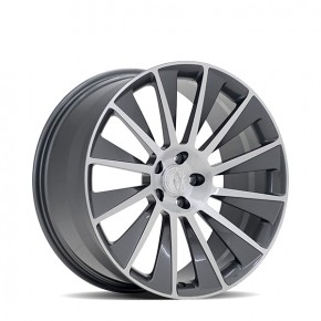 Windrad Gloss Gunmetal with Brushed Face 21