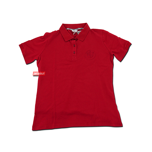 BMW POLO SHIRT RED