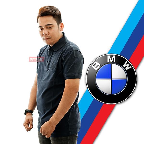 BMW Polo Shirt Logo Herren Navy
