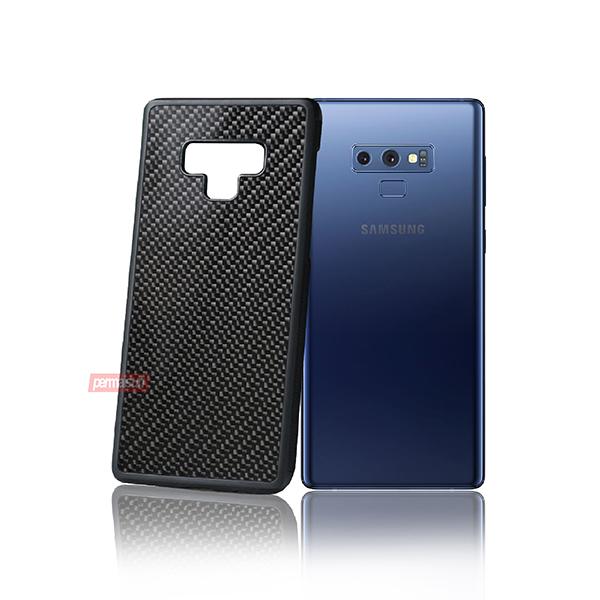 Case Fiber Carbon Rubber Samsung Note 9