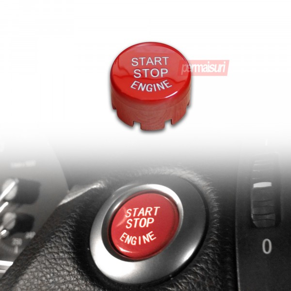 Red Start Stop Engine