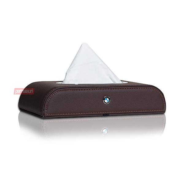 Tissue Box BMW Dark Brown