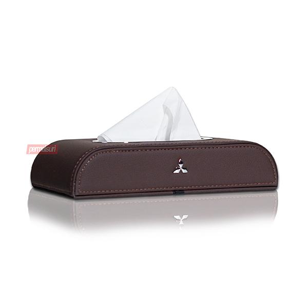 Tissue Box Mitsubishi Dark Brown