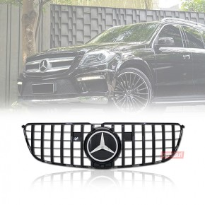 Grille Mercedes X166 Style GTR Gloss Black