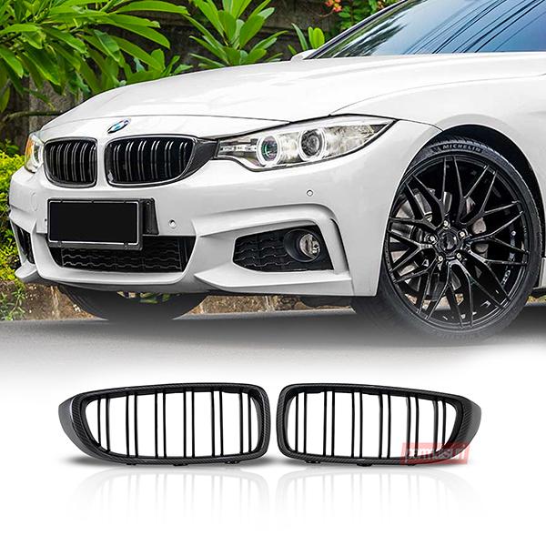Grille BMW F32 Carbon Fiber 2 slat 2014