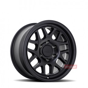 KM717 Bully Satin Black 17