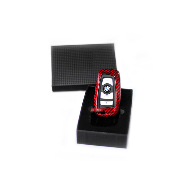 Key Case Carbon Red Type 2 BMW