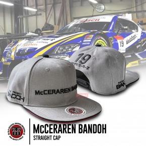 McCERAREN BANDOH straight cap