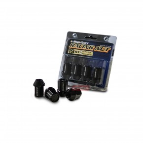Wedssport Racing Nut M12xP1.5 Black