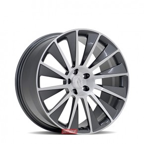Windrad | Gloss Gunmetal with Brushed Face 20
