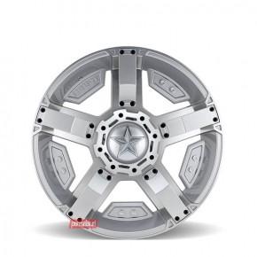 Rockstar Argento 168 Silver Machined 22