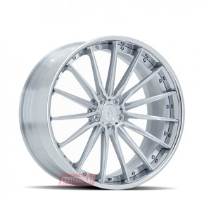 Facewheels FW2011 | Gloss Brushed Silver with High