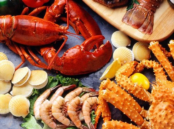 Các loại hải sản có vỏ cứng.jpg