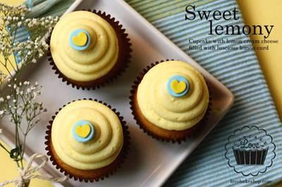 รูปจากเว็บไซต์: lemon cupcake ที่ ร้านอาหาร Cupcake Love Siam Paragon