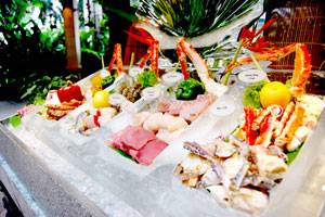 รูปจากเวป ที่ ร้านอาหาร River Cafe & Terrace The Peninsula Bangkok