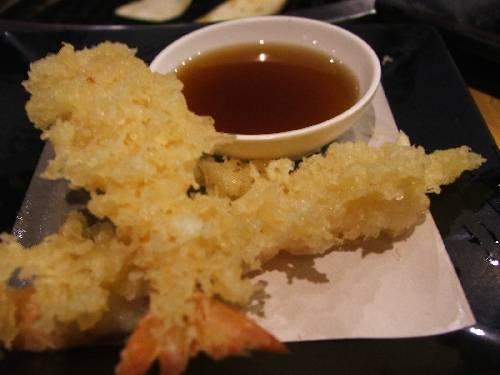 เทมปุระกุ้ง ที่ ร้านอาหาร Miyabi Japanese Buffet เดอะมอลล์ท่าพระ
