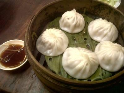 เสี่ยวหลงเปา ที่ ร้านอาหาร Ting Tai Fu