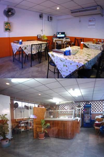 บรรยากาศในร้านธรรมดาบ้านๆ สวนทางกับรสชาติอาหารที่สุดยอดมาก ^_^ ที่ ร้านอาหาร Pepper Steak