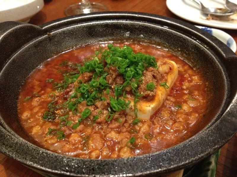 เต้าหู้อะไรซักอย่าง อร่อยครับ ที่ ร้านอาหาร The Grill Tokyo