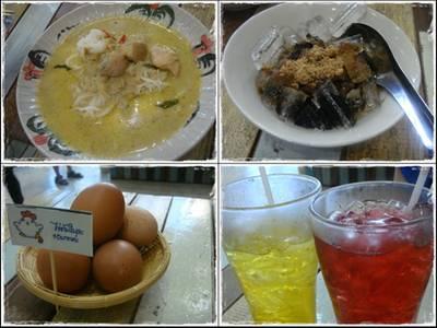 ของที่กิน อร่อยๆ ^^ ที่ ร้านอาหาร Meejakin The Nine Rama 9