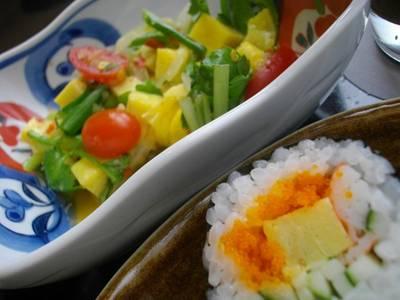 ยำสลัดไข่หวาน (ตั้งชื่อเอง 55+) ที่ ร้านอาหาร Nippon Kai ดิเอ็มโพเรียม