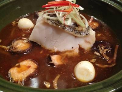 ปลาหิมะนึ่งสไตล์จีน ที่ ร้านอาหาร Crave Wine Bar & Restaurant Aloft Bangkok