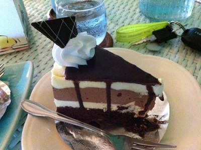 Chocolate Moose [65฿] ที่ ร้านอาหาร Mai Bakery in garden