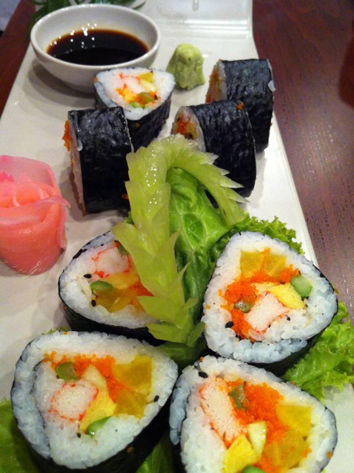 ฟูโตมากิ อร่อยจัง ที่ ร้านอาหาร Haruka