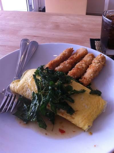 ร้านอาหาร Home restaurant (ข้าวห่อไข่)