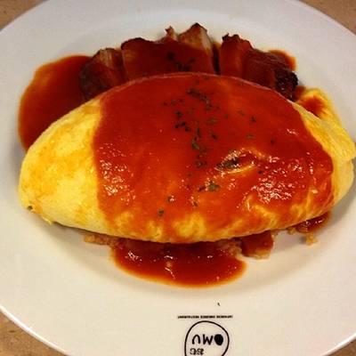ร้านอาหาร Omu Japanese omurice & cafe พาร์คเลน เอกมัย