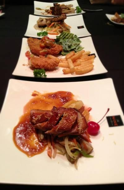สะดุด ที่ ร้านอาหาร The NINE Wine&Dining | Wine Bar&Bistro Royal Place Condo Phuket