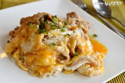 ข้าวไข่ข้นไก่เทอริยากิ 80 บาท ที่ ร้านอาหาร บ้านพระจันทร์