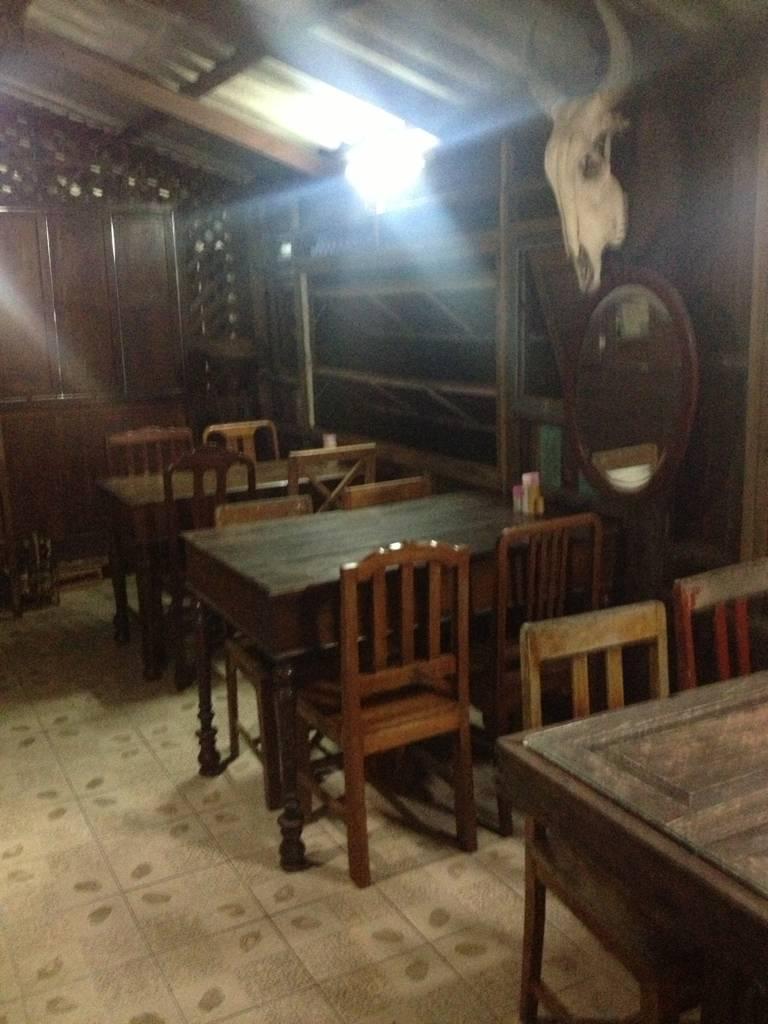 ภายในห้องริม ที่ ร้านอาหาร ตู้กับข้าว ดอนเมือง