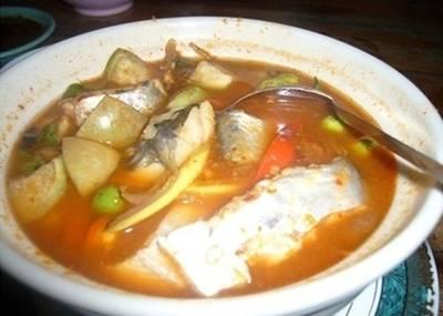 """""""แกงป่าปลา"""" จำชื่อปลาไม่ได้ซะงั้น รสชาติเผ็ดจัดจ้านค่ะ ที่ ร้านอาหาร แพรุ่ง"""