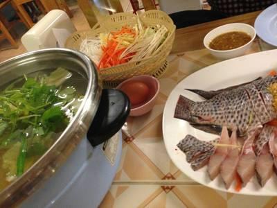 ร้านอาหาร ปลาจุ่ม
