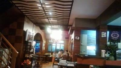 บรรยากาศหลังร้าน ที่ ร้านอาหาร Sweets Café