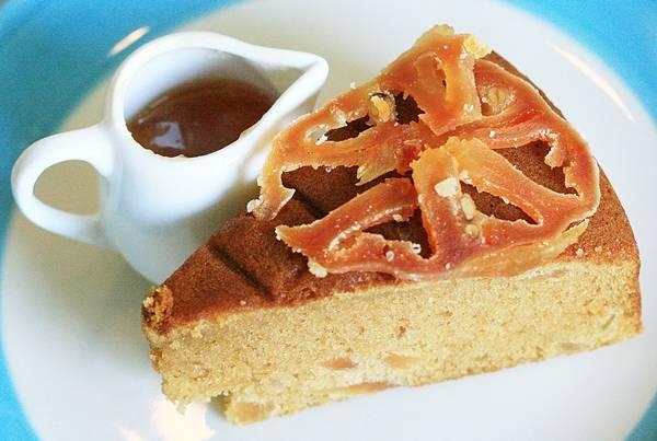 เค้กมะตูม อร่อยสุขภาพดี ที่ ร้านอาหาร La Mind Café and Dessert