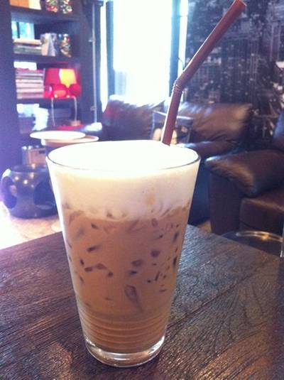 กาแฟคาปูชิโน่ ที่ ร้านอาหาร Caffe Undici
