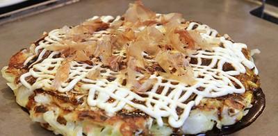 Kyoto Yoshino โอโคโนมิ ยากิแป้งบางผักตู้ม สูตรเด็ดจากเกียวโต