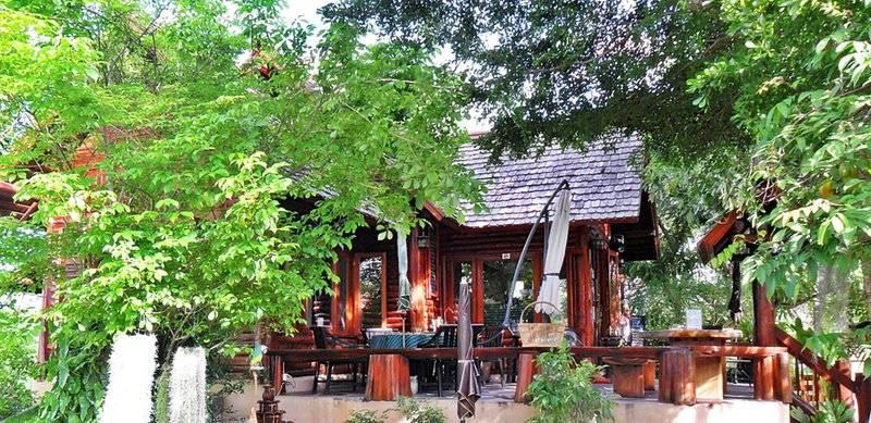 บ้านไม้สักหลังเล็กๆ สไตล์รีสอร์ท  สวย อบอุ่น อาหารอร่อย ที่ ร้านอาหาร My Home Coffee & Thai Cuisine