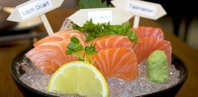 3 ความต่างของแซลมอน 3 น่านน้ำ ที่  Sankyodai Japanese Cuisine