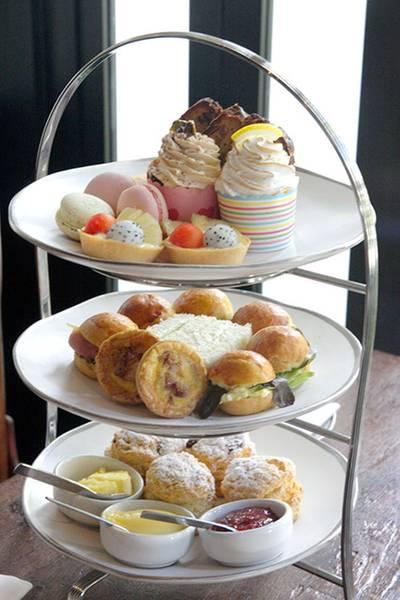 Afternoon Tea เซ็ตสำหรับ 2 คน ที่ ร้านอาหาร Cafe Cha โรงแรม เดอะ สยาม