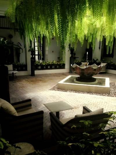 แถมวิวของโรงแรมให้ชม ที่ ร้านอาหาร Cafe Cha โรงแรม เดอะ สยาม